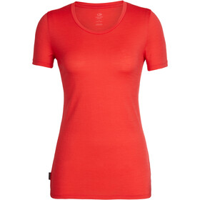 Icebreaker Tech Lite SS Low Crewe Top Women ember